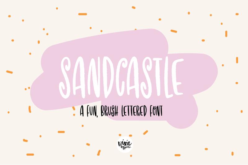 sandcastle-font