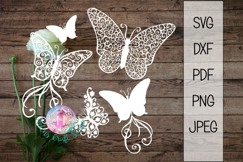 butterfly-svg-dxf-png