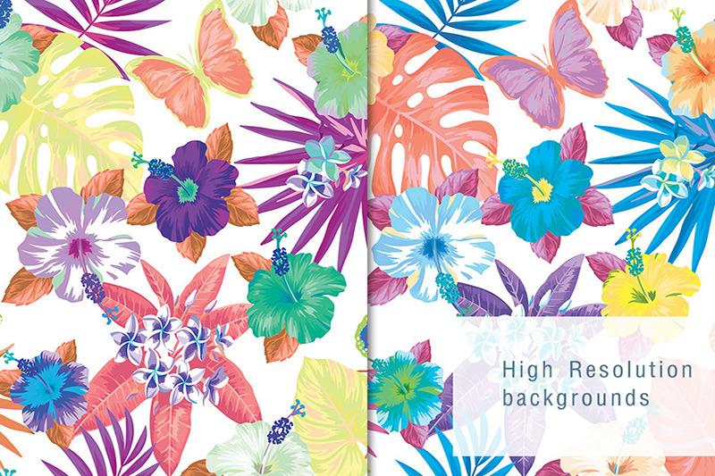 water-color-flower-pattern