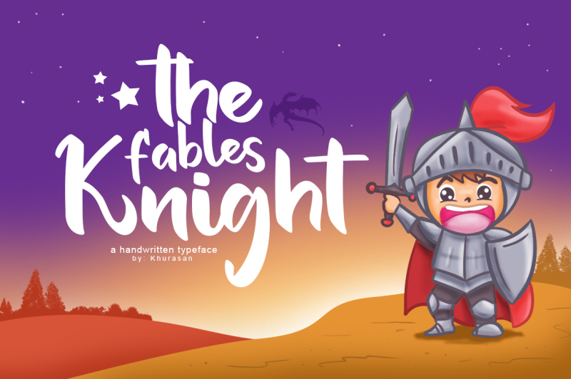 the-fables-knight-font