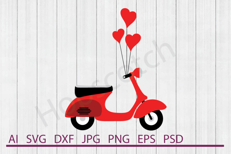 scooter-svg-scooter-dxf-cuttable-file