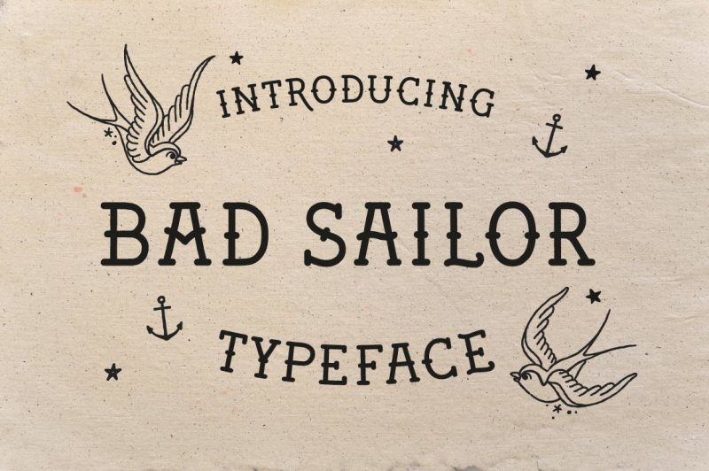 bad-sailor-typeface