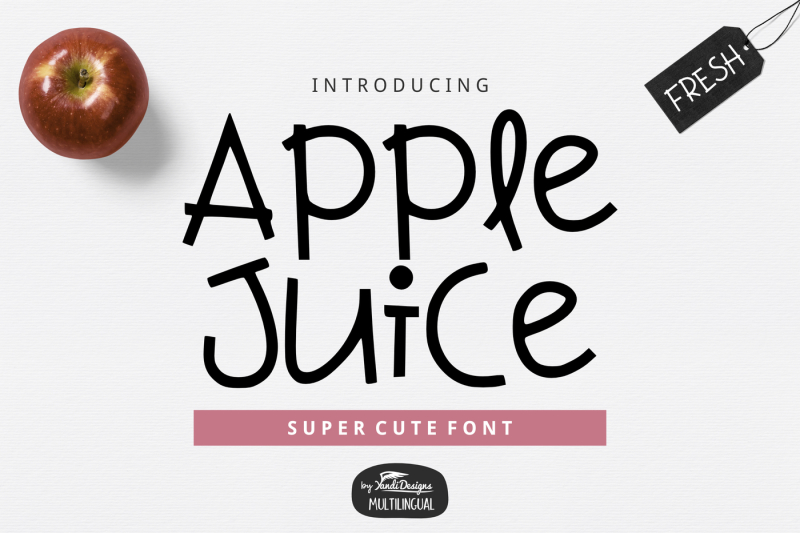 apple-juice-font