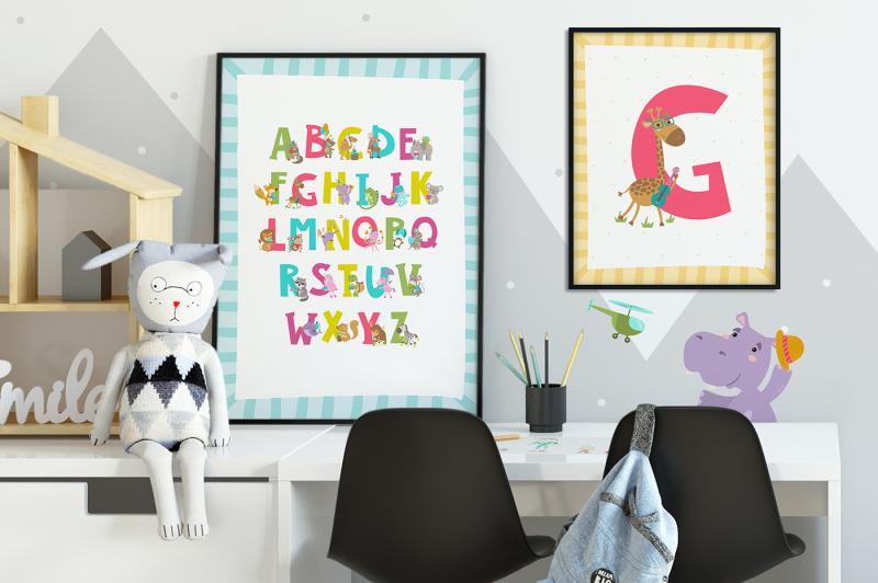 cute-animals-set