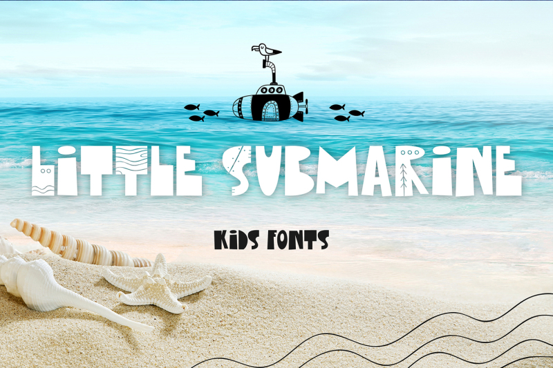 little-submarine-kids-fonts
