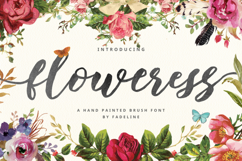 floweress-hand-painted-brush-font
