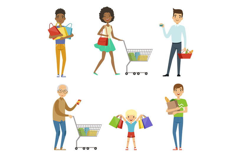 people-of-different-ages-make-shopping