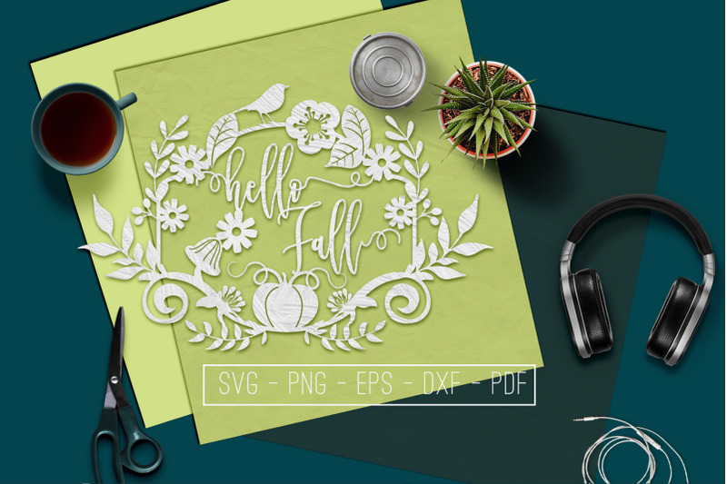 hello-fall-svg-cutting-file-leaves-svg-autumn-dxf-eps-png