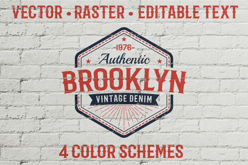 authentic-vintage-logo-template