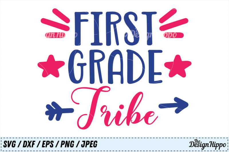 first-grade-tribe-svg-1st-grade-dxf-back-to-school-svg-png-cut-files