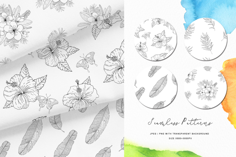 tropical-blossom-graphic-collection