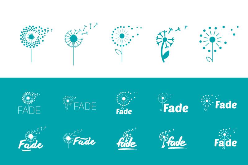 flat-set-of-fly-dandelion-symbols