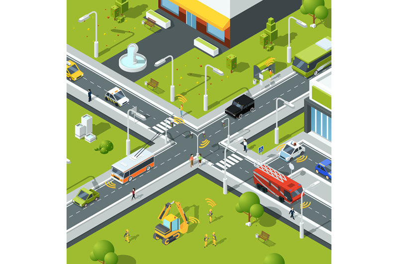 wireless-connection-inside-urban-traffic