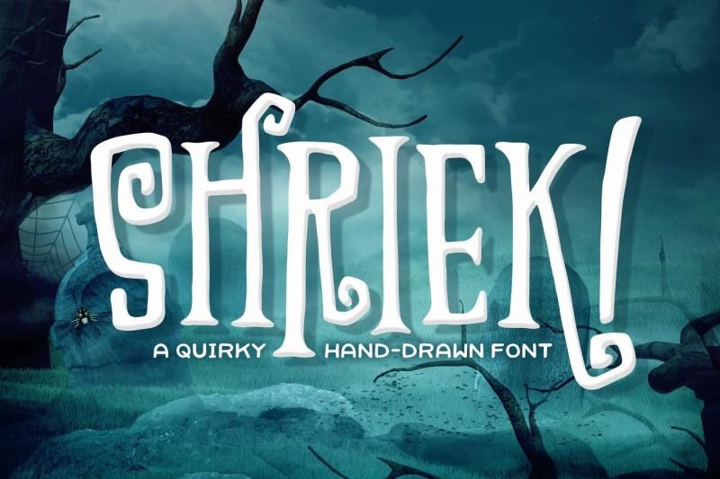 shriek-font
