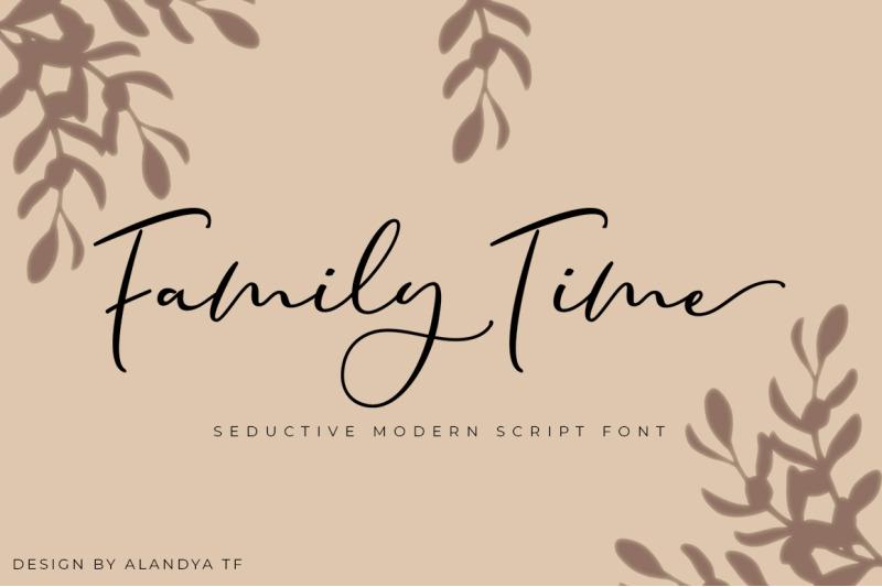 family-time-script