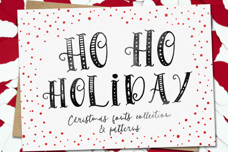 ho-ho-holiday-fonts-collection-and-patterns