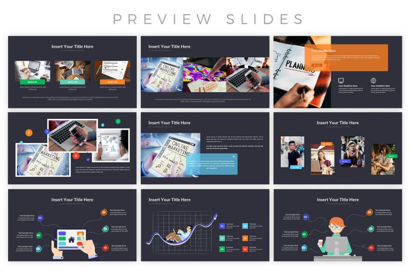 digital-marketing-presentation-template