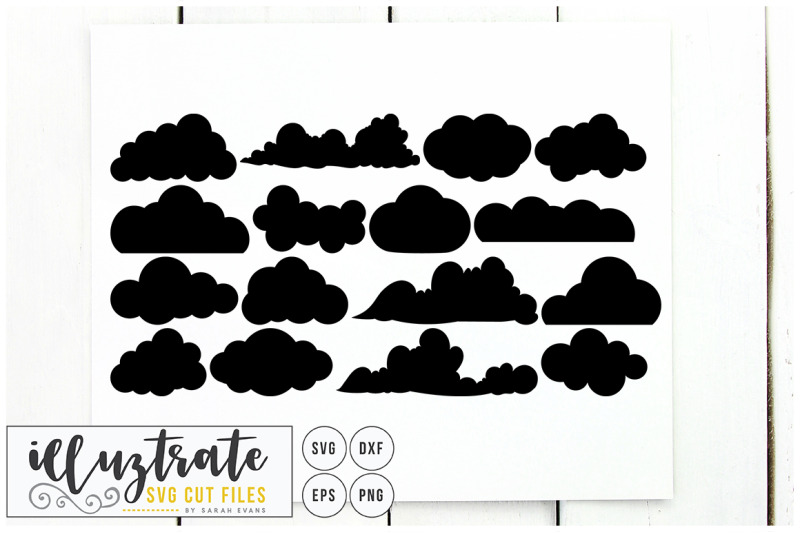 clouds-svg-cut-files-clipart-set-dxf-vector-png