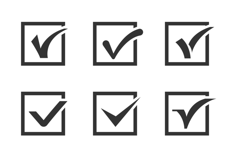 check-marks-ticks-in-boxes-confirmation-positive-vector-icons