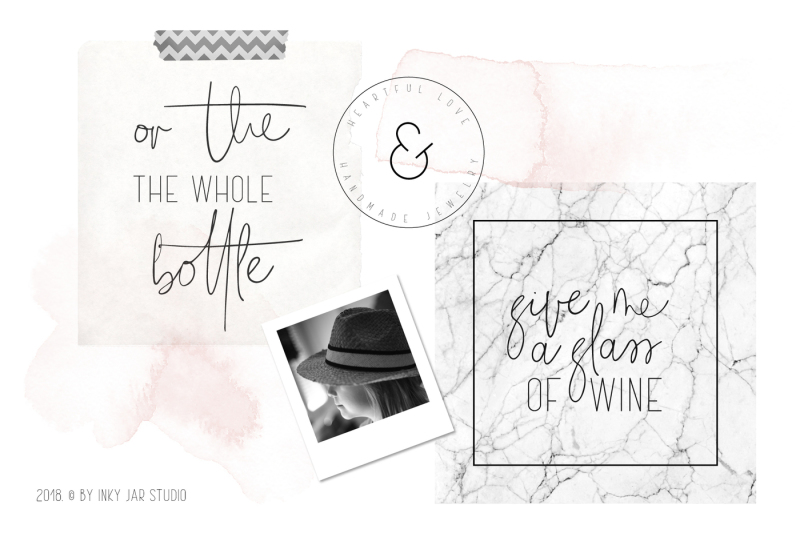 the-girl-font-duo-12-psd-instagram-post-templates