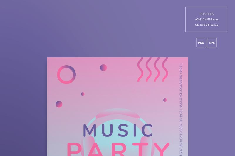 design-templates-bundle-flyer-banner-branding-music-party