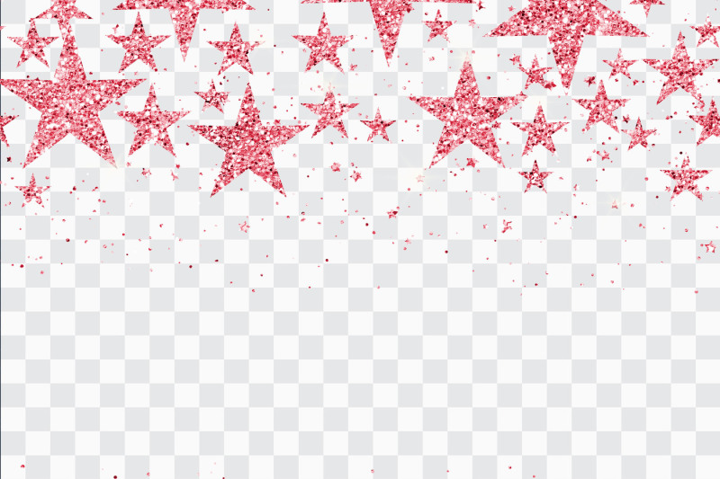 16 Seamless Glitter Star Overlay Transparent Images By