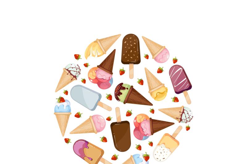 ice-cream-vector-icons-logos-set-in-circle-design