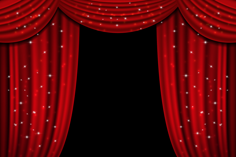 red-open-curtain-with-glittering-lights-vector-background