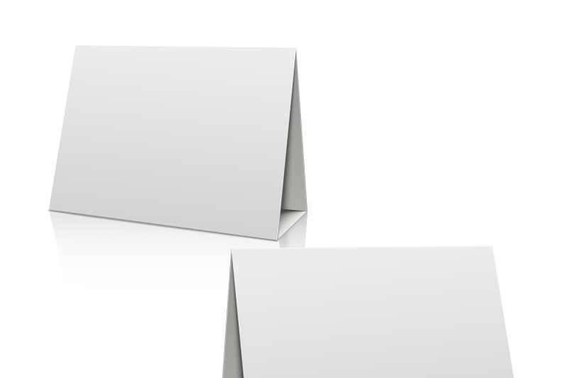 blank-white-paper-stand-table-holder-card-3d-vector-design-template