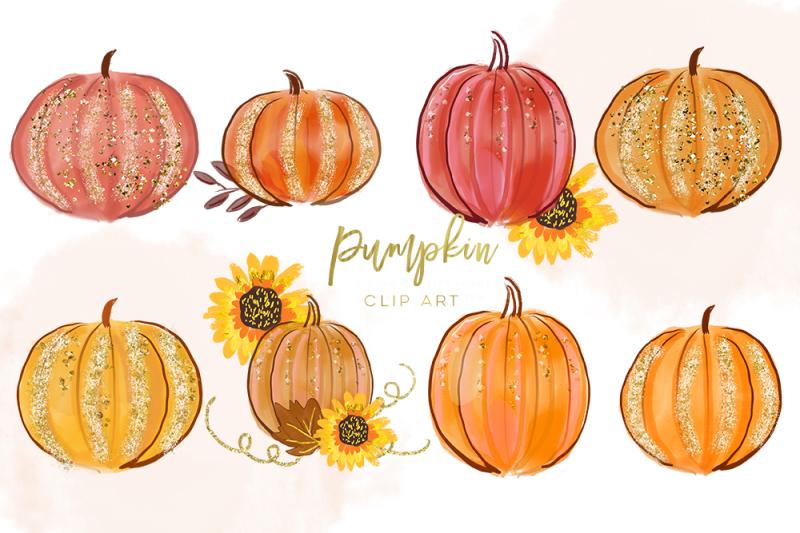 pumpkin-clipart-digital-pumpkin-clip-art-autumn-clipart