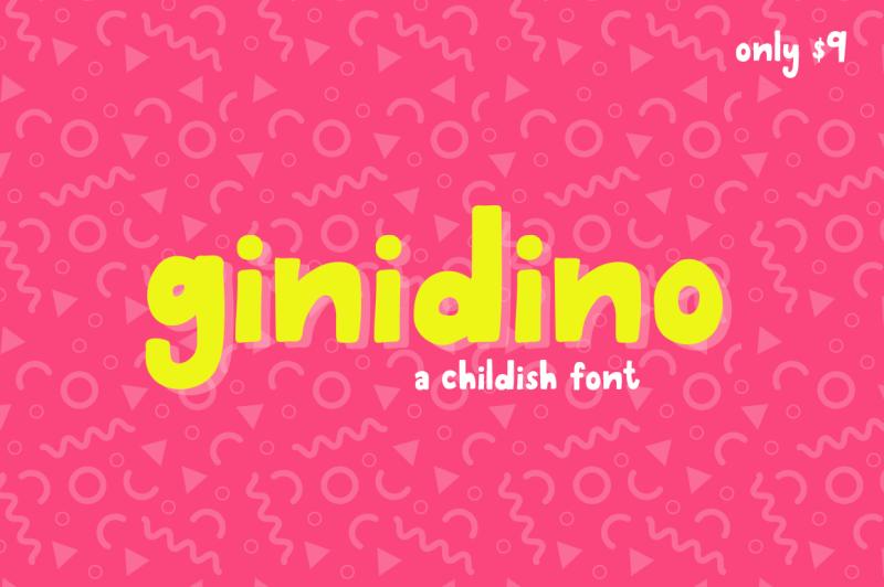 ginidino-font