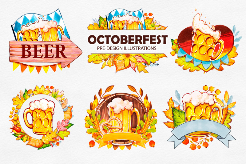 octoberfest-marker-illustrations
