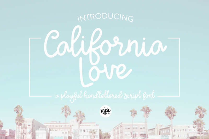 california-love-font