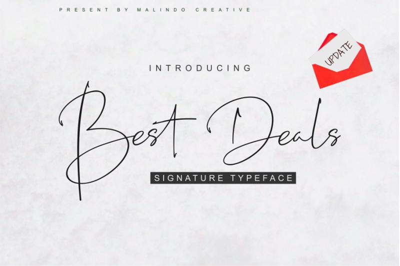 best-deals-signature-typeface