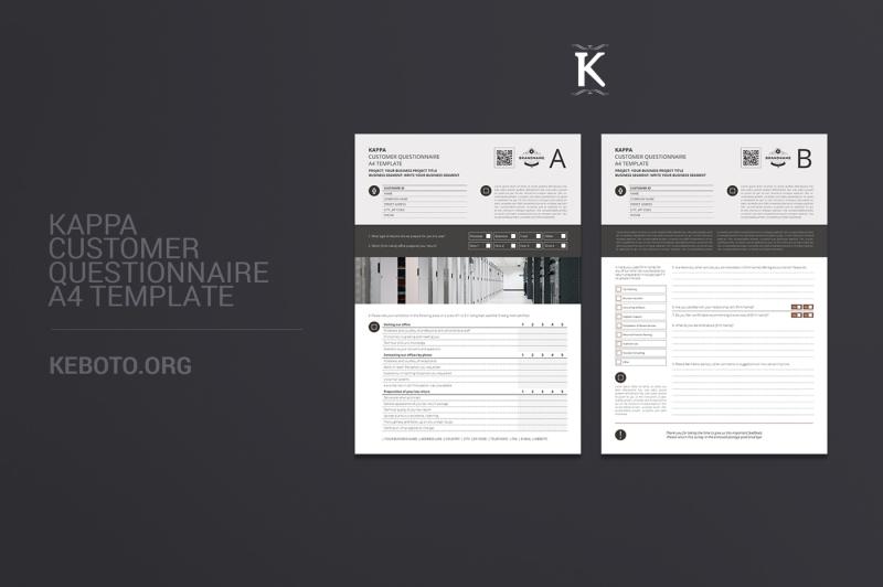 kappa-customer-questionnaire-a4-template
