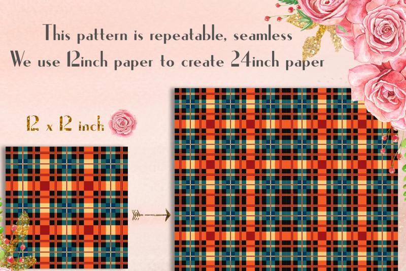24-princess-plaid-digital-papers-tartan-gingham-check