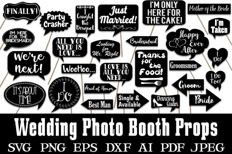 wedding-photo-booth-props-svg-cut-files-and-clipart-png