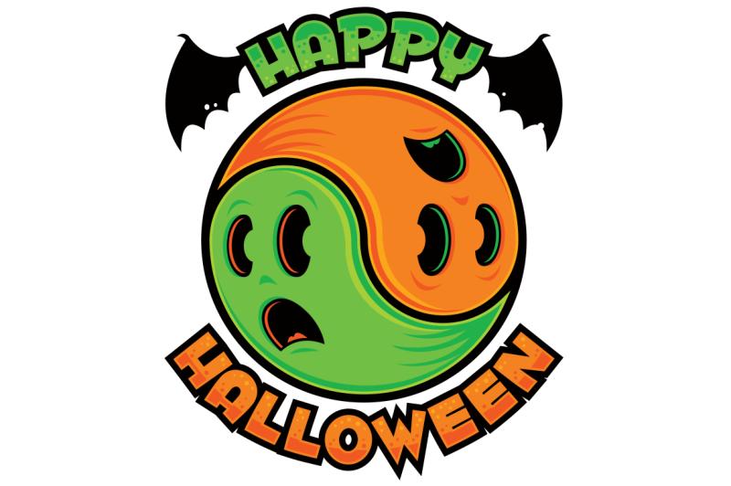 happy-halloween-ghost-yin-yang