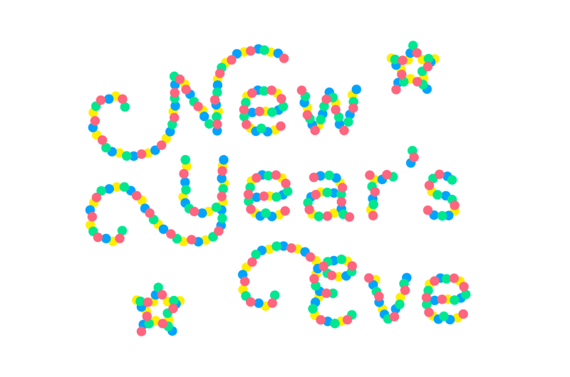 confetti-color-font