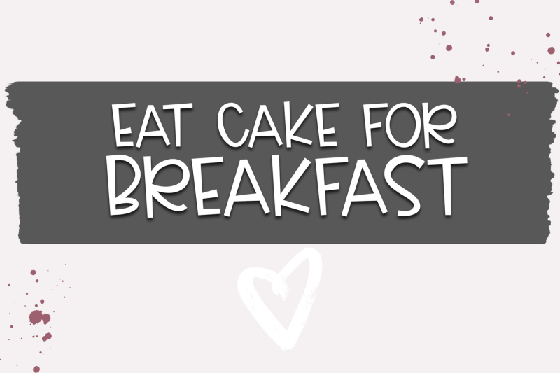 cake-batter-a-handwritten-font