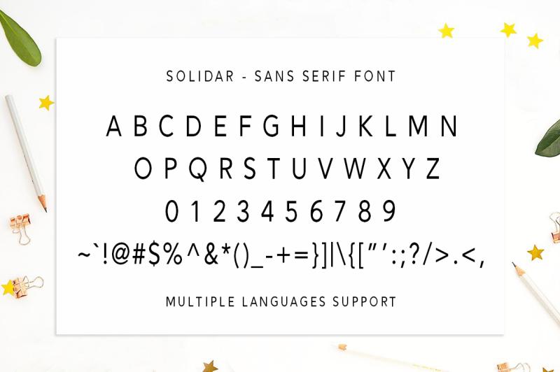 solidar-script-font-family