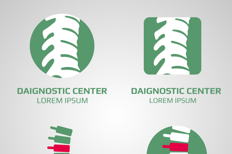 vector-spine-diagnostic-center-logo