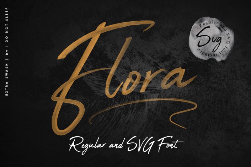 flora-svg-font