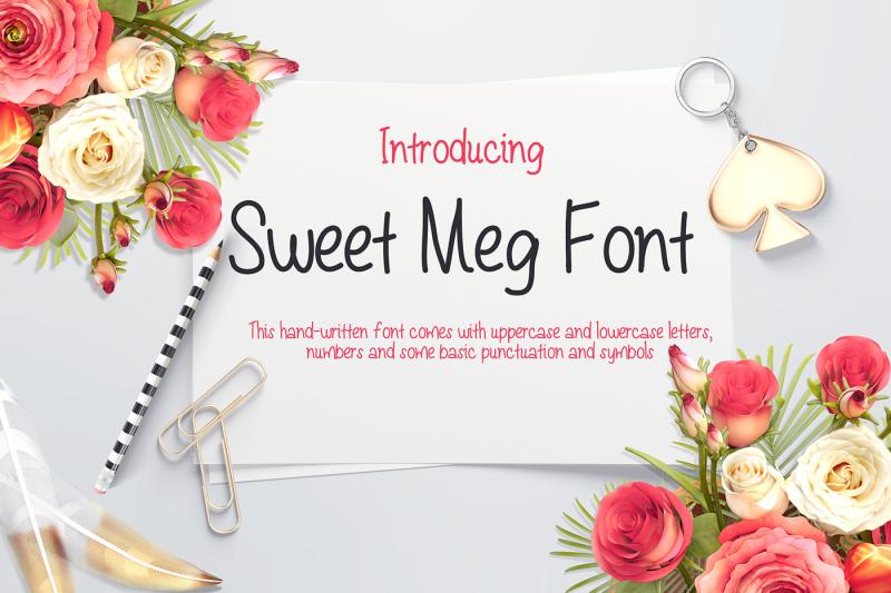 sweet-meg-a-handwritten-font