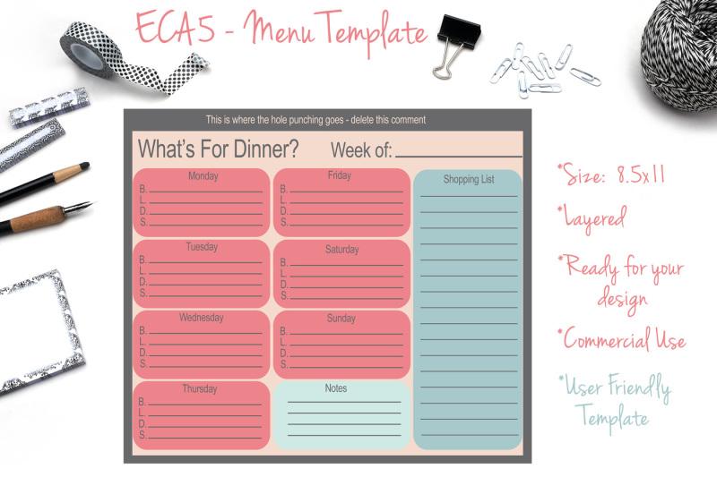 menu-template