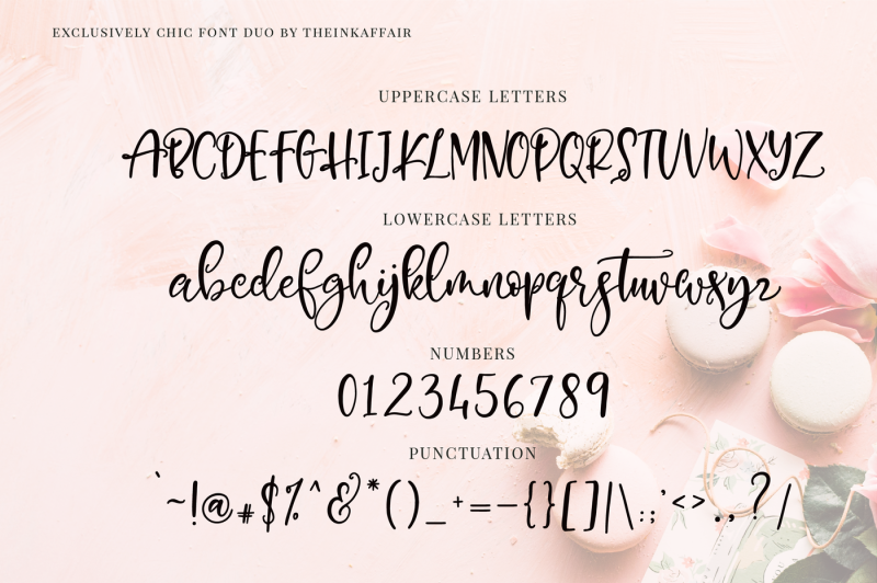 exclusively-chic-font-duo