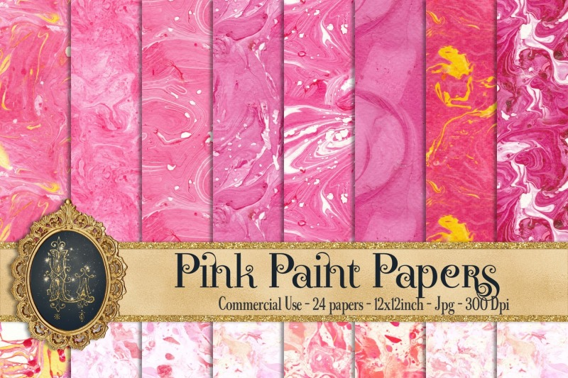24-pink-paint-liquid-papers