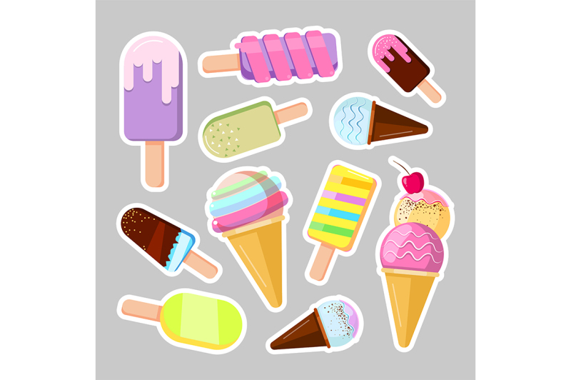 ice-cream-stickers-cute-cartoon-vector-illustration