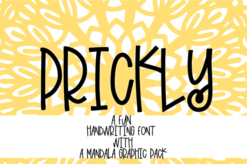 prickly-a-fun-handwriting-font-with-mandala-extras