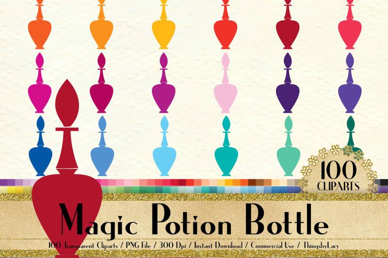 100-vintage-magic-potion-bottle-clip-arts-perfume-bottles